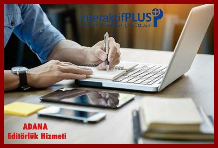 Adana Editörlük Hizmeti Adana Haber Sitesi Editörlük Adana E-Ticaret Sitesi Editörlük