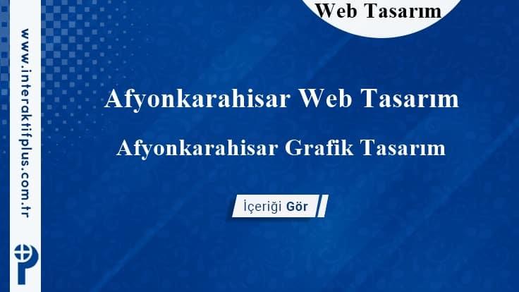 Afyonkarahisar Web Tasarım