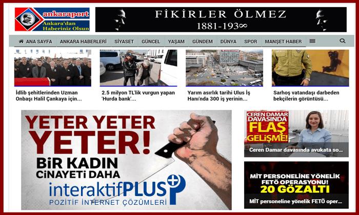 Ankaraport.net Tanıtım Yazısı