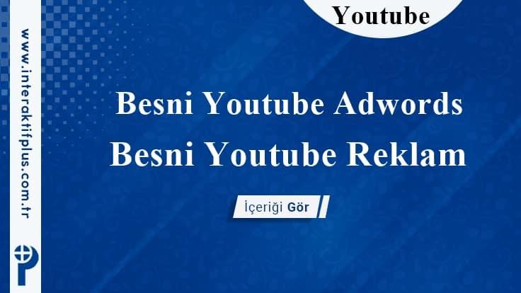 Besni Youtube Adwords