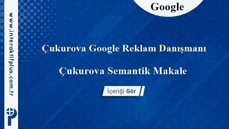 Çukurova Google Reklam Danışmanı