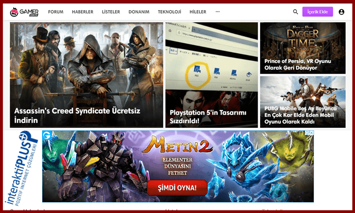 Gamer.com.tr Tanıtım Yazısı