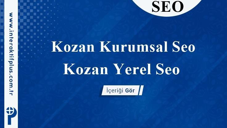 Kozan Kurumsal Seo