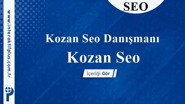 Kozan Seo Danışmanı