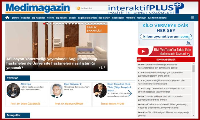 Medimagazin.com.tr Tanıtım Yazısı