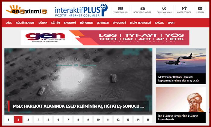 On5yirmi5.com Tanıtım Yazısı