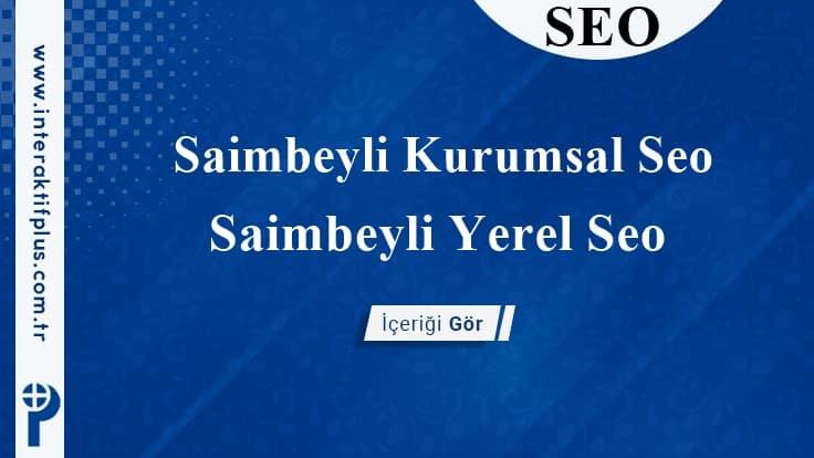 Saimbeyli Kurumsal Seo