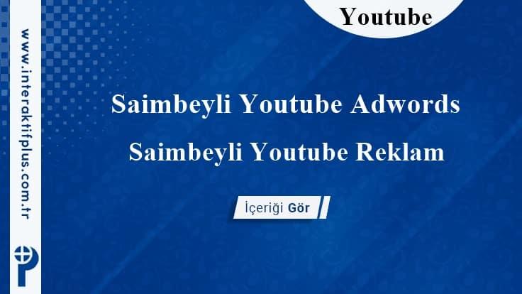 Saimbeyli Youtube Adwords