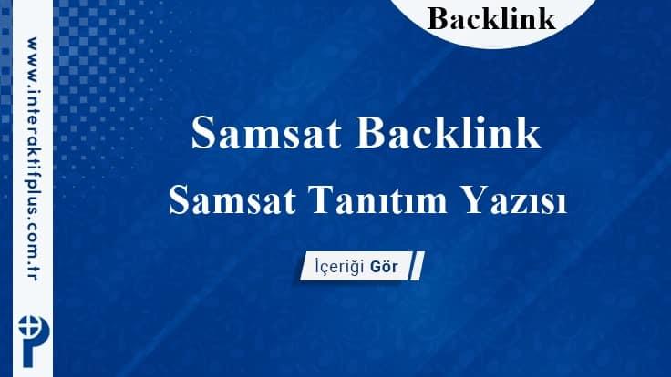 Samsat Backlink