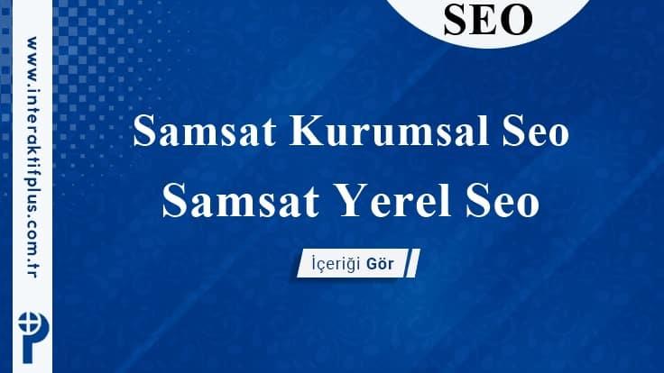 Samsat Kurumsal Seo