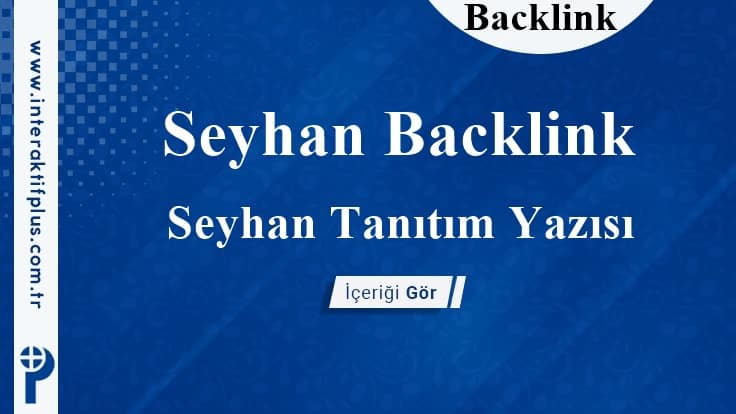 Seyhan Backlink