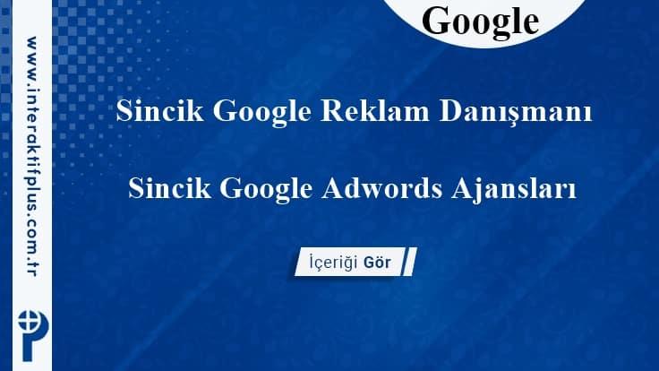 Sincik Google Reklam Danışmanı
