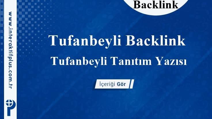 Tufanbeyli Backlink