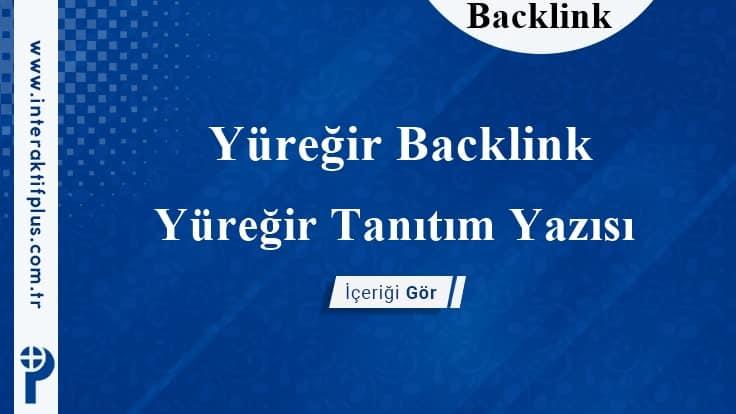 Yüreğir Backlink