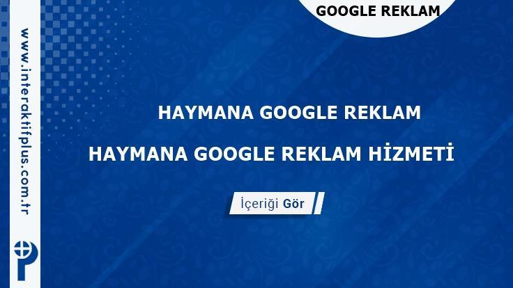 Haymana Google Reklam Danışmanı Haymana Google Adwords
