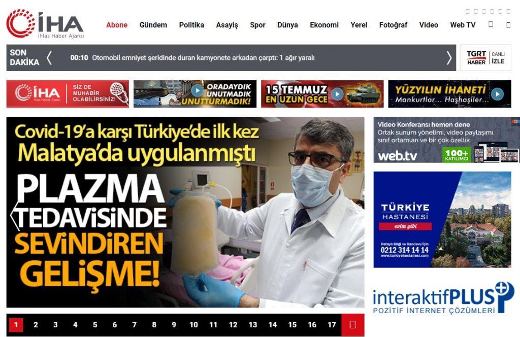iha.com.tr Tanıtım Yazısı