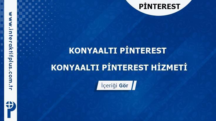 Konyaalti Pinterest instagram Twitter Reklam Danışmanı