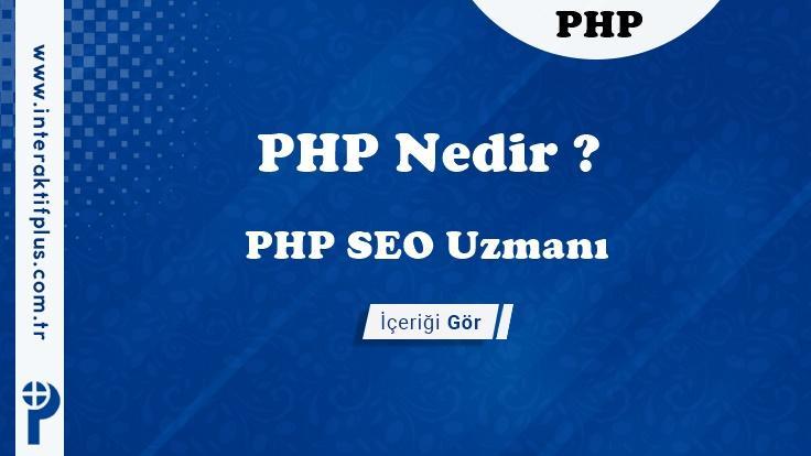 PHP SEO Uzmanı