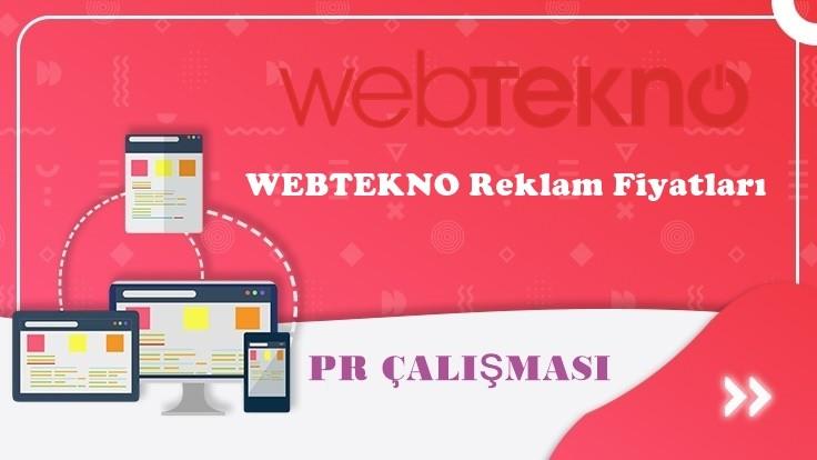 Webtekno.com Reklam Fiyatları