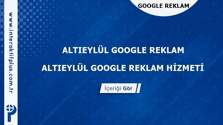 Altieylul Google Reklam Danışmanı Altieylul Google Adwords Ajansları