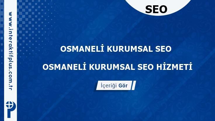 Osmaneli Kurumsal Seo ve Yerel Seo