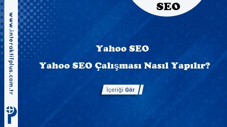 Yahoo SEO