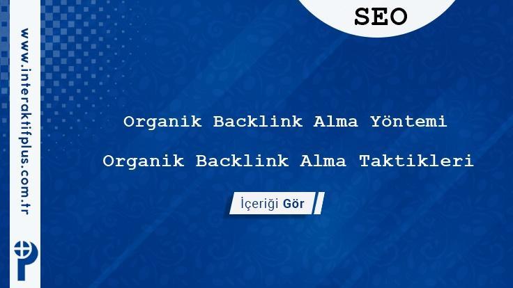 Organik Backlink Alma Yöntemi