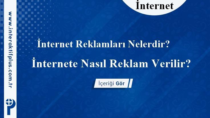 İnternet Reklam Fiyatları