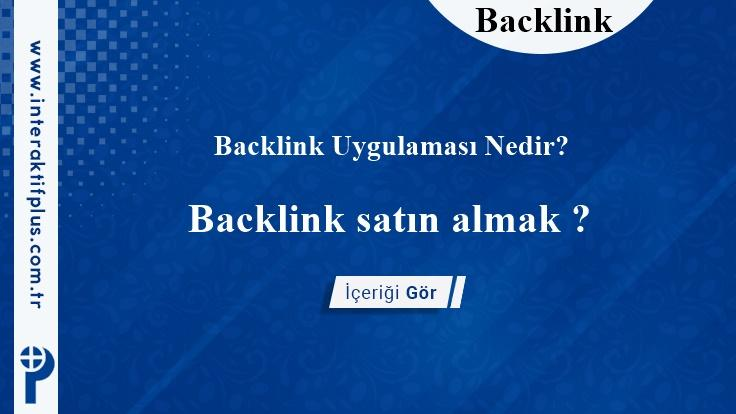 Backlink Satın Al