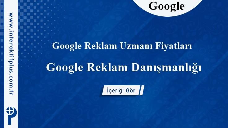 Google Reklam Uzmanı