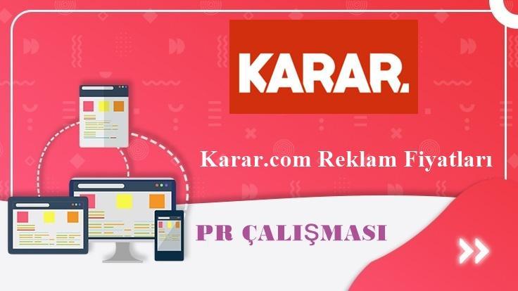 Karar.com Reklam Fiyatları