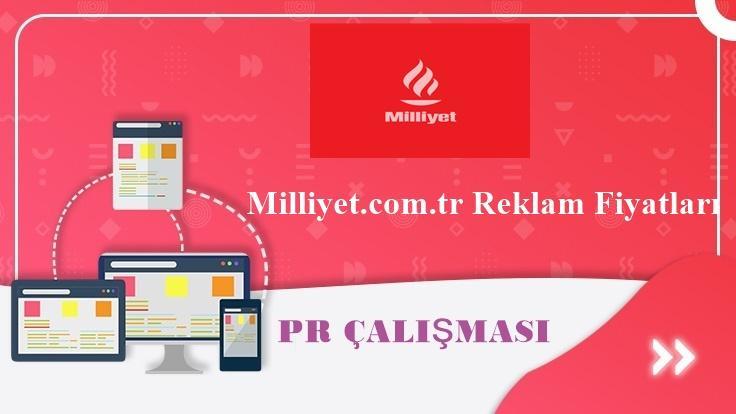 Milliyet.com.tr Reklam Fiyatları
