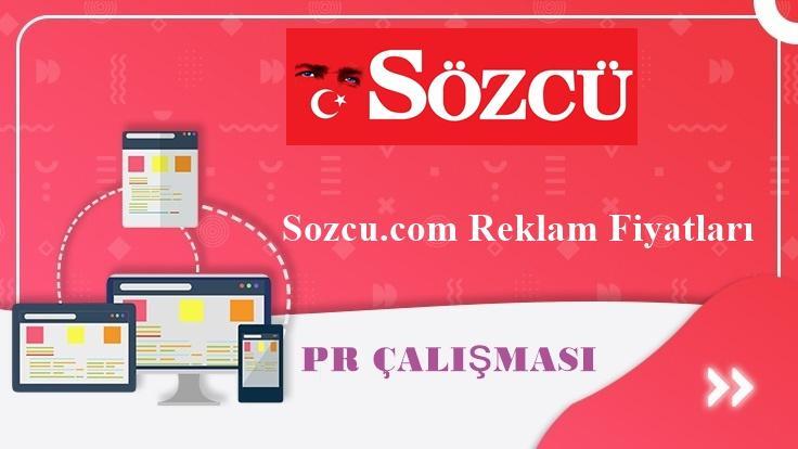 Sozcu.com Reklam Fiyatları