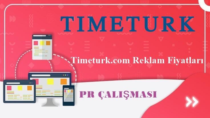 Timeturk.com Reklam Fiyatları