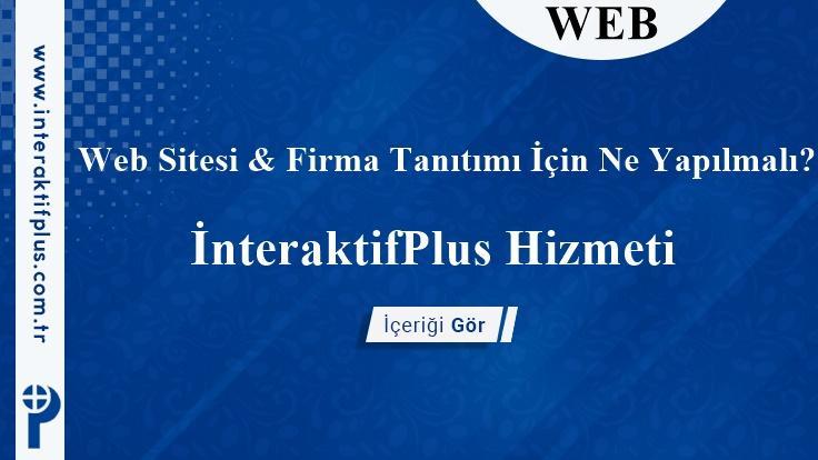Web Siteni & Firmanı Tanıt