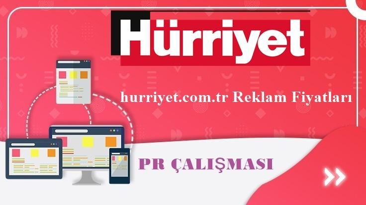 hurriyet.com.tr Reklam Fiyatları