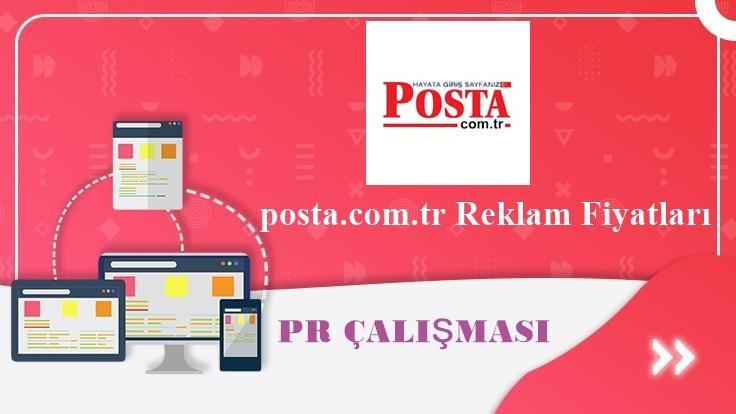 posta.com.tr Reklam Fiyatları